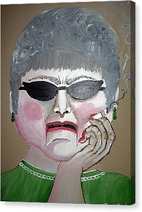 That Woman Canvas Print by Sharon Supplee
