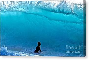 That's A  Wave - Kekaha Beach Canvas Print by Debra Banks
