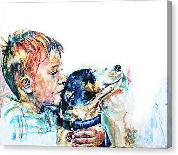 That's My Boy Canvas Print