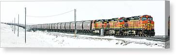 The 11 15 Panorama Canvas Print by Todd Klassy