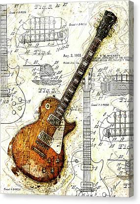 The 1955 Les Paul Custom Canvas Print