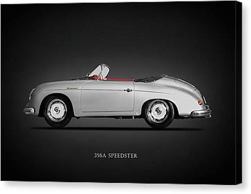 Classic Porsche 356 Canvas Print - The 356a Speedster by Mark Rogan