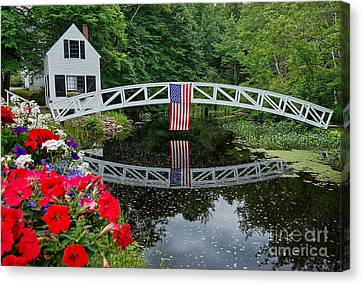The 4th Of July Canvas Print by Susan Garver