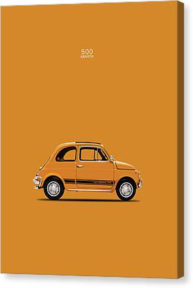 The 500 Abarth 1969 Canvas Print by Mark Rogan