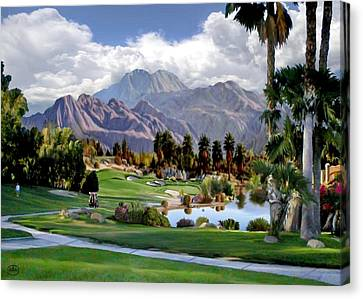The 5th At Woodhaven Canvas Print by Ron Chambers