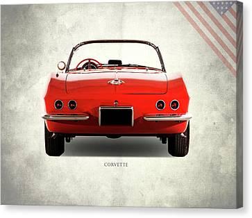 The 62 Corvette Canvas Print by Mark Rogan