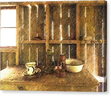 The Abandoned Cabin Canvas Print