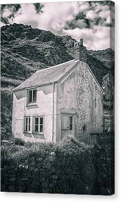Industrial Background Canvas Print - The Abandoned House by Martin Newman