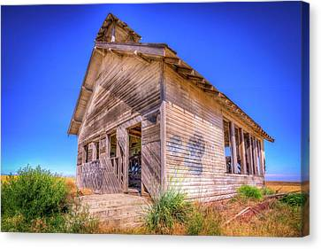 The Abandoned School House Canvas Print