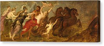 The Followers Canvas Print - The Abduction Of Proserpina by Follower of Peter Paul Rubens