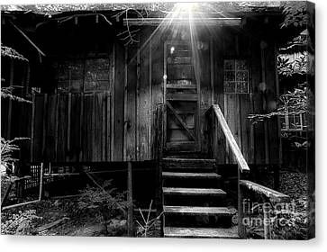 Abandoned House Canvas Print - The Absent Spirits by Michael Eingle