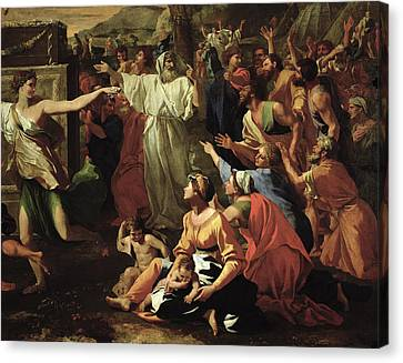 The Adoration Of The Golden Calf Canvas Print