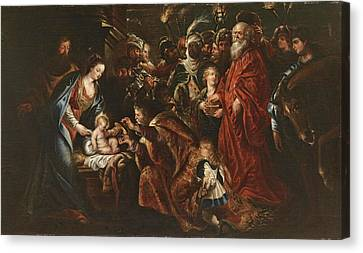 The Followers Canvas Print - The Adoration Of The Magi by Follower of Peter Paul Rubens