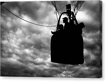 The Adventure Begins  Hot Air Balloon Canvas Print by Bob Orsillo