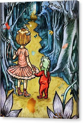 The Adventurers Canvas Print by Baird Hoffmire