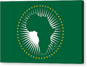The African Union  Canvas Print