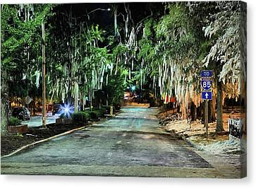 Toomers Oaks Canvas Print - The After Party by JC Findley