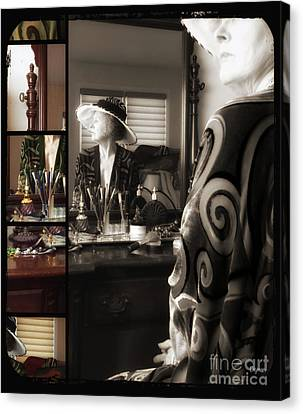The Age Of Victorian Beauty  Canvas Print by Steven Digman