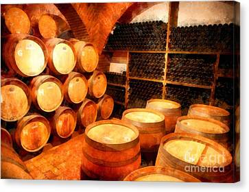 The Aging Room Canvas Print