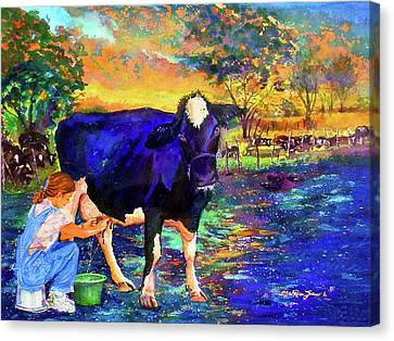 The Agronomist Canvas Print by Estela Robles