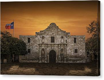 The Alamo Mission In San Antonio Canvas Print