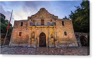Canvas Print featuring the photograph The Alamo - San Antonio Texas by Gregory Ballos