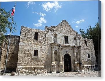 The Alamo Texas Canvas Print