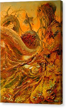 Canvas Print featuring the painting The Alchemist by Henryk Gorecki