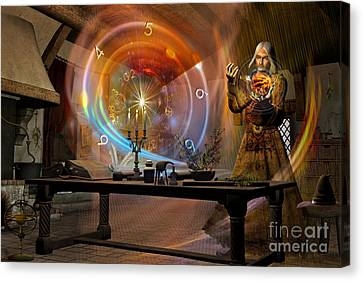The Alchemist Canvas Print by Shadowlea Is