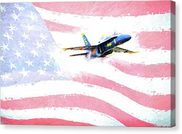 The All American  Canvas Print by JC Findley