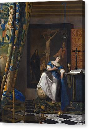 The Allegory Of The Faith Canvas Print