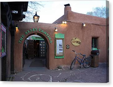 The Alley Cantina Canvas Print