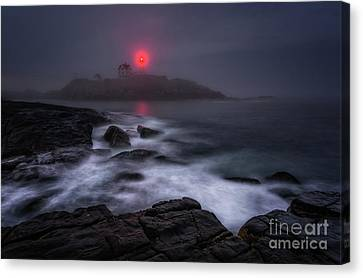 The Allure Of Nubble Canvas Print by Scott Thorp