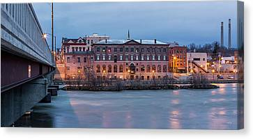 Canvas Print featuring the photograph The Allure Of Old by Everet Regal