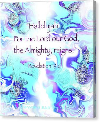 The Almighty Reigns Canvas Print