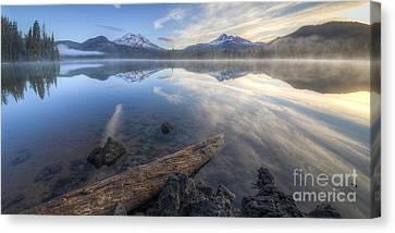 The Alpine Lake Canvas Print