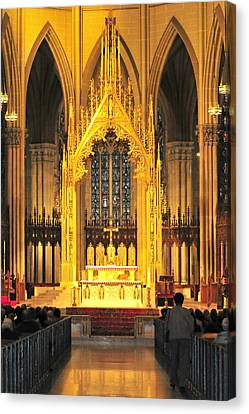 Canvas Print featuring the photograph The Alter by Diana Angstadt