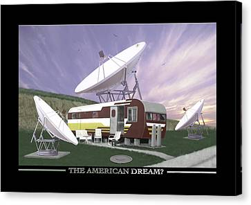 The American Dream Canvas Print by Mike McGlothlen
