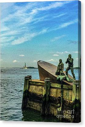 The American Merchant Mariners Memorial #1 Canvas Print