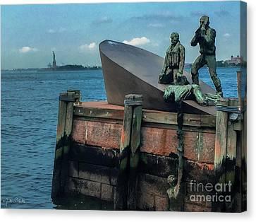 The American Merchant Mariners Memorial #2 Canvas Print