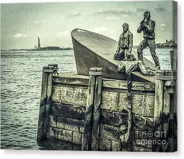 The American Merchant Mariners Memorial #3 Canvas Print