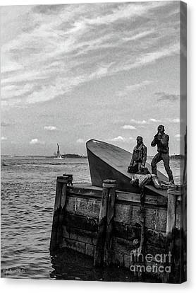 The American Merchant Mariners Memorial #4 Canvas Print