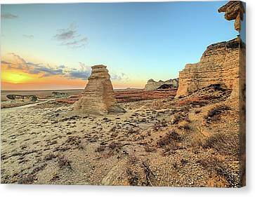 Canvas Print featuring the photograph The American West by JC Findley