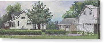 The Amerine Farm Canvas Print by Terri  Meyer