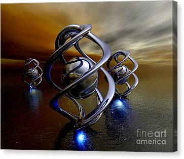 The Ancient Ones Canvas Print by Alexander Butler