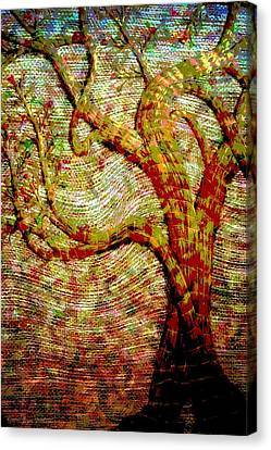 The Ancient Tree Of Wisdom Canvas Print