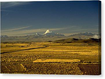 The Andes Canvas Print by Michael Mogensen
