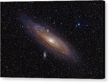 The Andromeda Galaxy Canvas Print by Nasa