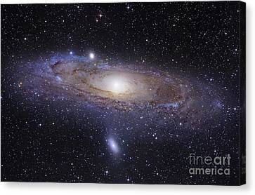 No People Canvas Print - The Andromeda Galaxy by Robert Gendler
