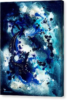 The Angel Horses Canvas Print by Lee Pantas